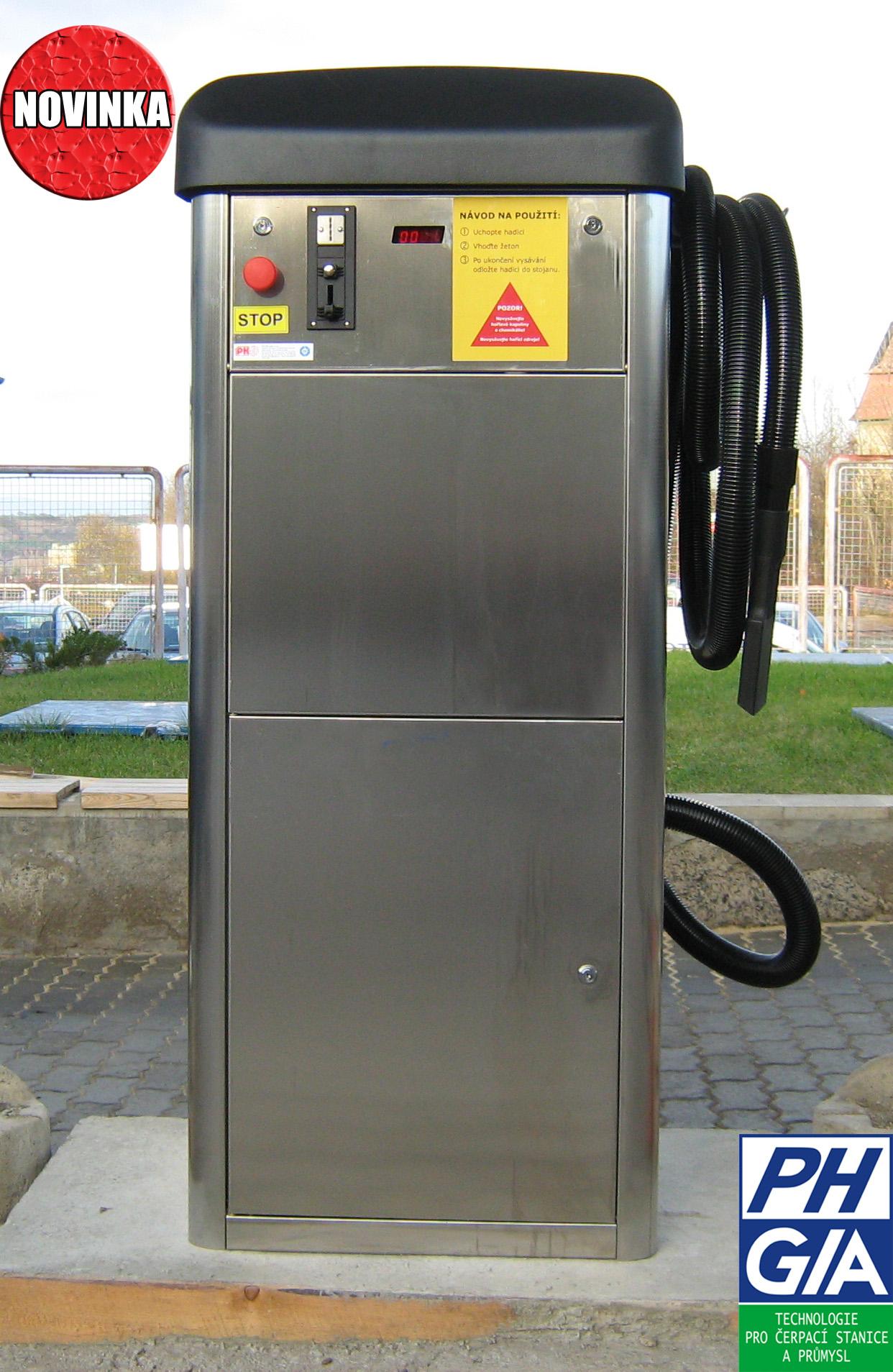 Vysavače a kompresory pro čerpací stanice