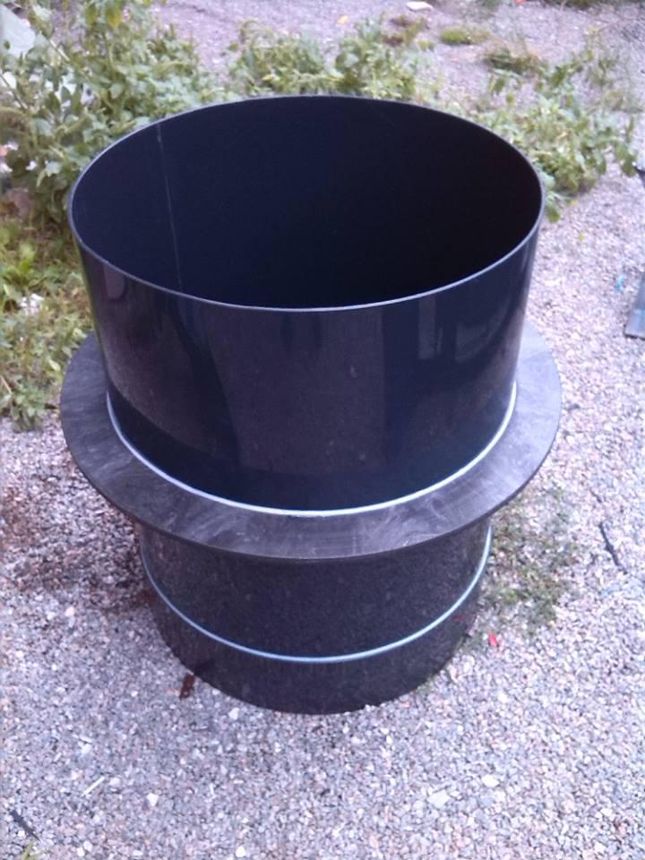 Svařování plastů - vložky studní různých tvarů i objemů