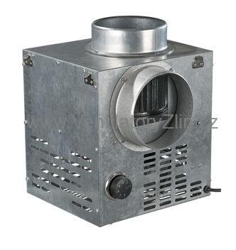 krbový ventilátor s manuálním termostatem