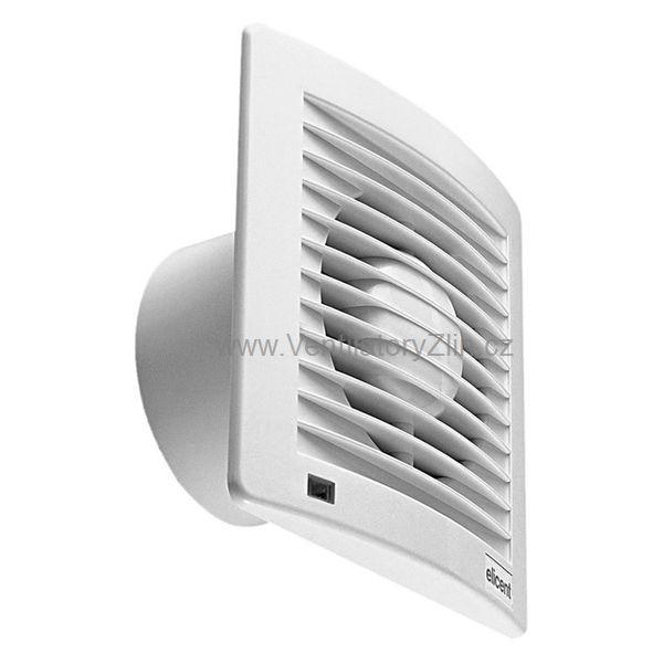 nástěnný axiální ventilátor