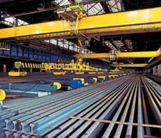 Žeriavové, železničné, električkové a banské koľajnice - dodávky, montáže, inštalácie