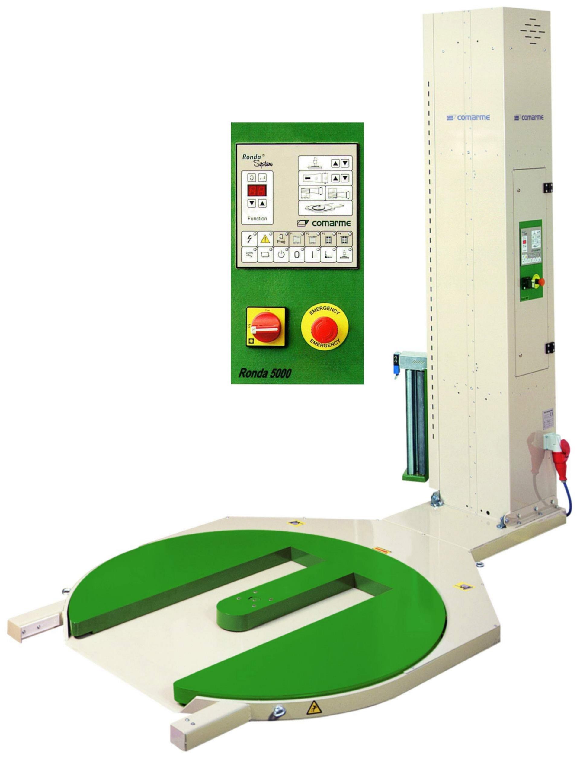 RONDA 5000 - ovinovací stroj