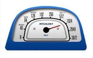 Měření rychlosti - bezdrátový internet