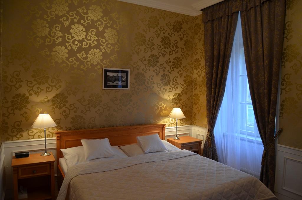 Ubytování v překrásném prostředí Zámeckého hotelu Lednice