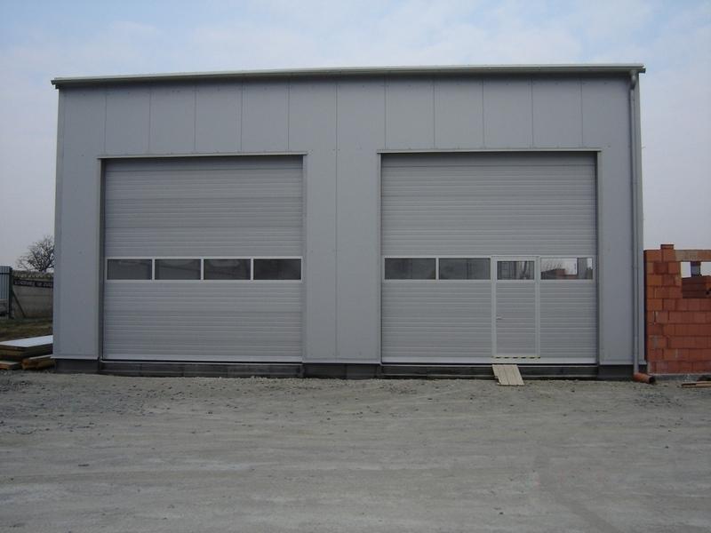 Garážová průmyslová, sekční, křídlová vrata Trido - široká nabídka designů