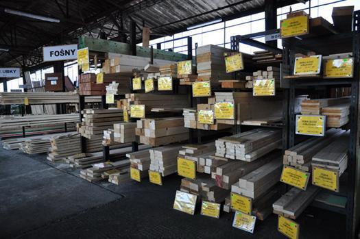 Stavební dřevo Ostrava