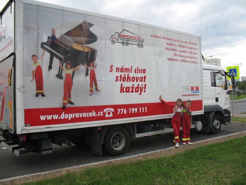 Stěhovací servis, levné stěhování firem, bytů Olomouc, Ostrava