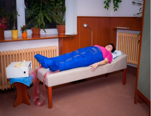 Zpevnění pokožky pomocí přístroje Lymfoven