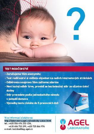 Anonymní testy rodičovství Nový Jičín