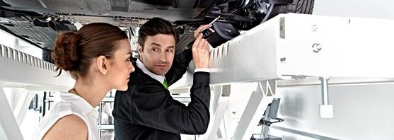 Servisní prohlídky Škoda a Fiat