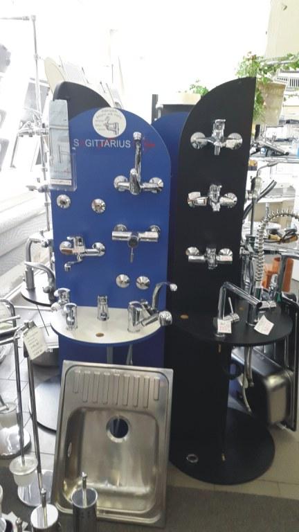 Prodej vybavení do koupelen, instalační materiál - velkoobchod