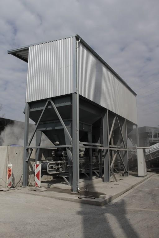 Výroba litého asfaltu