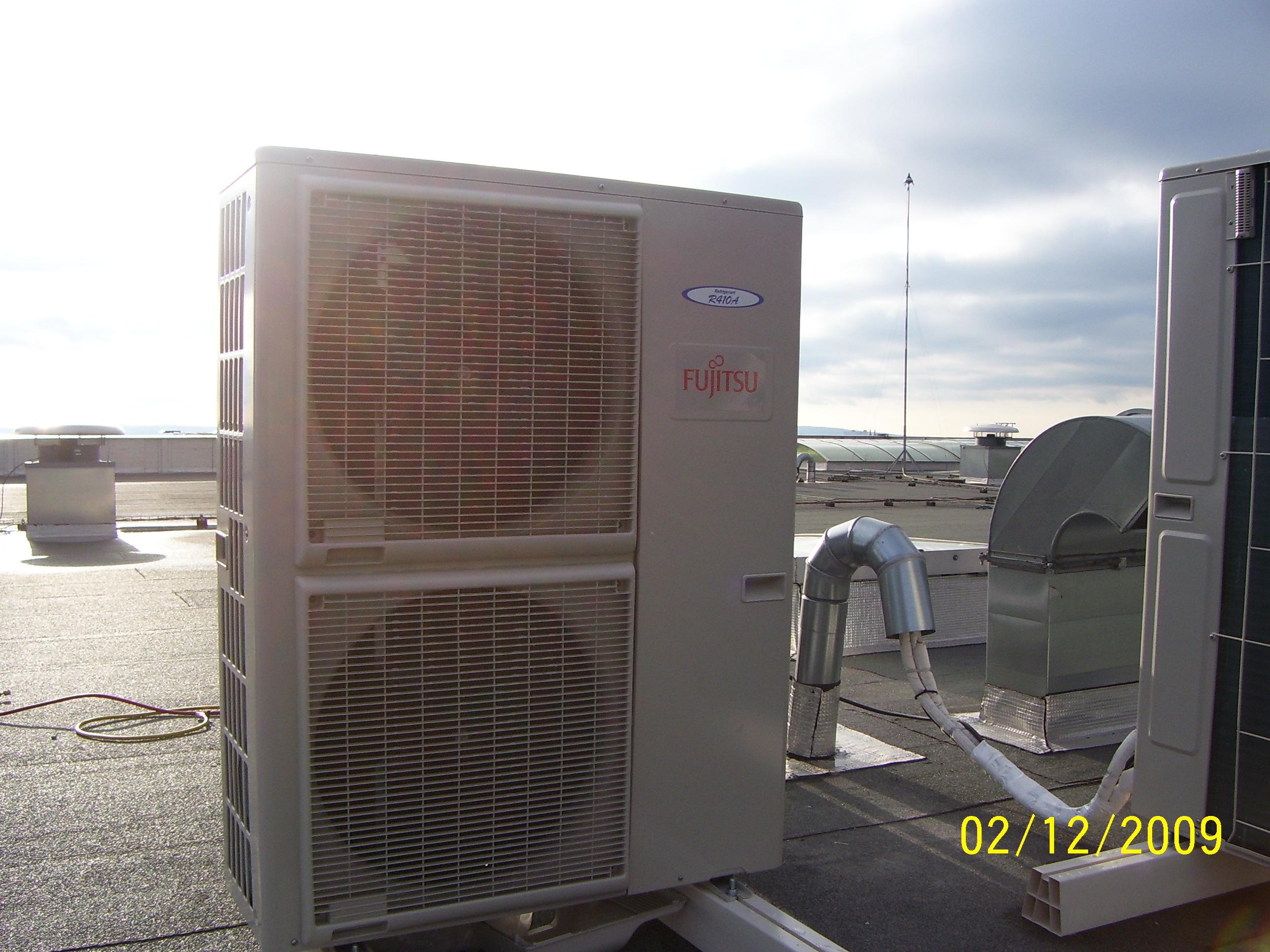 Bytové klimatizační jednotky, mobilní klimatizace, vzduchotechnika