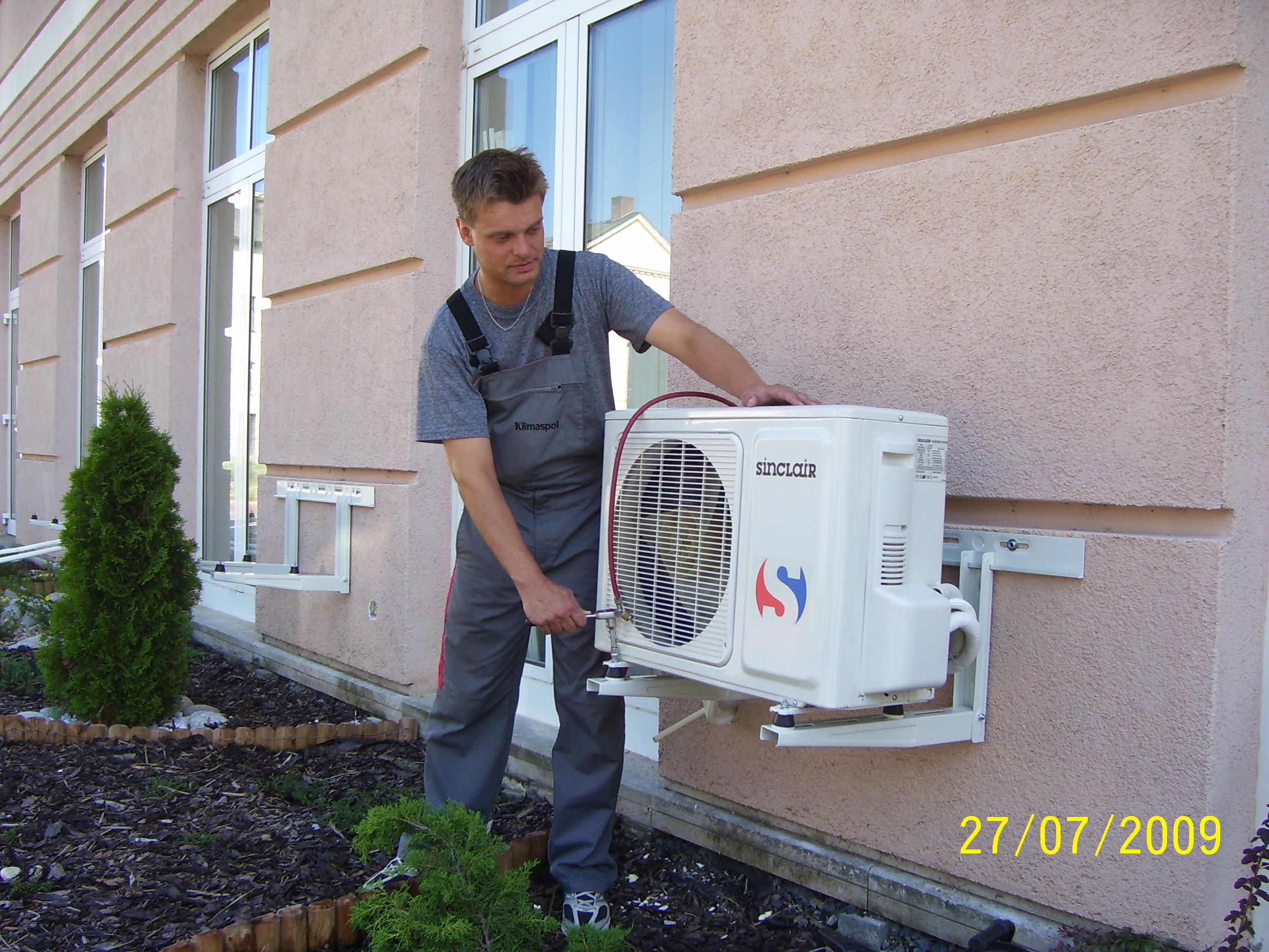 bytové klimatizační jednotky