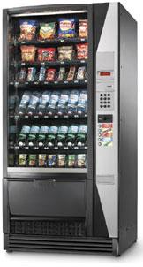 Automaty na balené potraviny, bagety do firem Olomouc, Prostějov