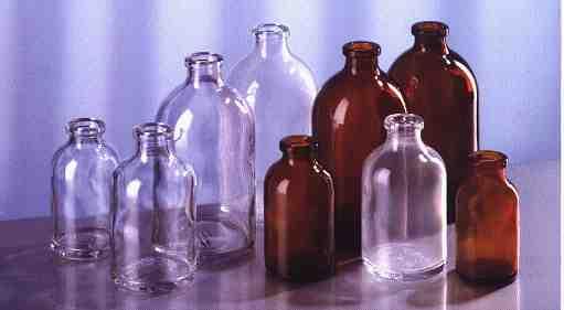 Injekční a infuzní láhve