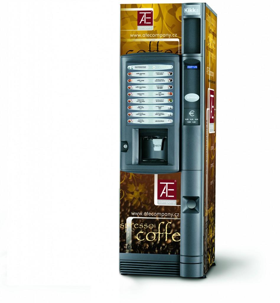 Prodej, servis, instalace prodejních nápojových  automatů Přerov