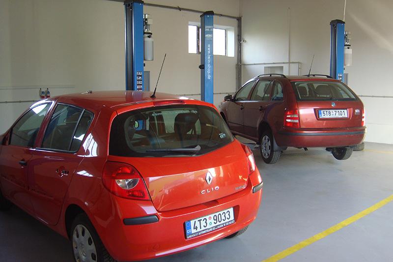 Nový autoservis a pneuservis v Branticích pro Krnov a Bruntál