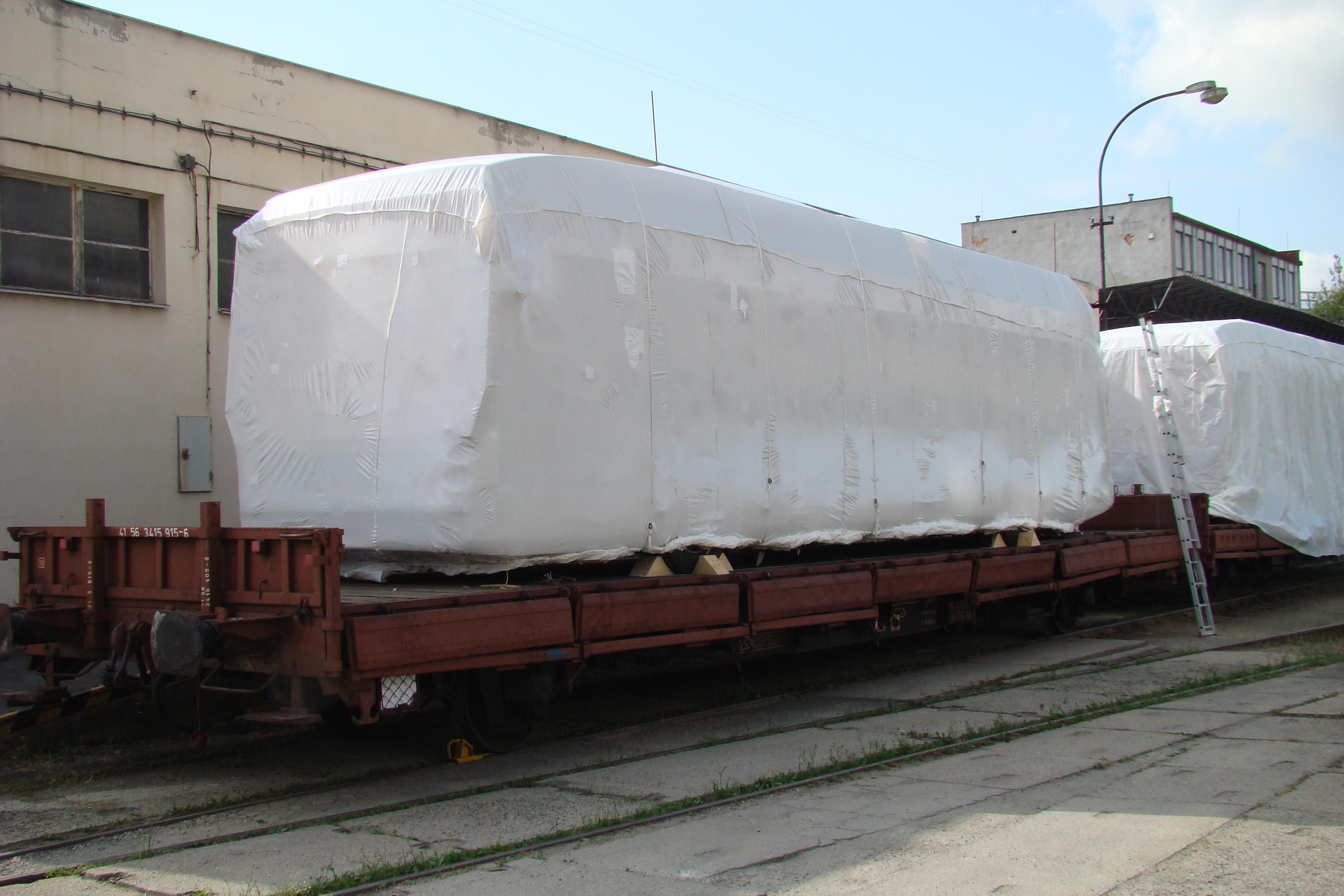 Balení dopravních prostředků pro export, přepravu Frýdek-Místek