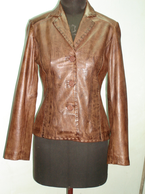 PAKISTAN; Leather clothing