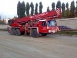 Pronájem teleskopických autojeřábů s natáčecími nápravami Brno