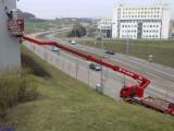 Montážní plošiny, pronájem plošin včetně posádky Brno