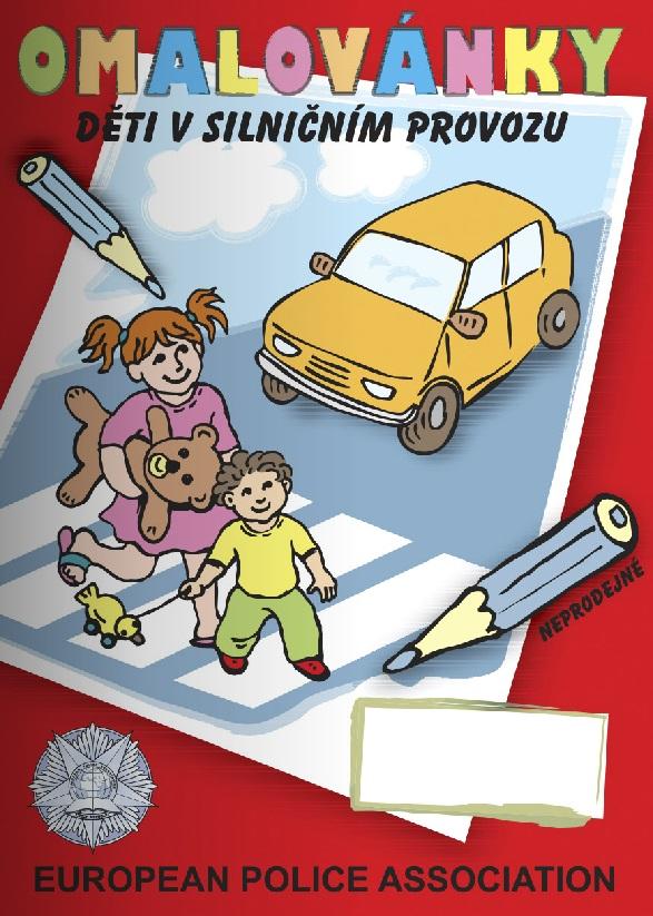 Omalovánky - dopravní výchova