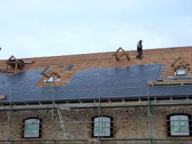 nezateplené opláštění střech Olomouc