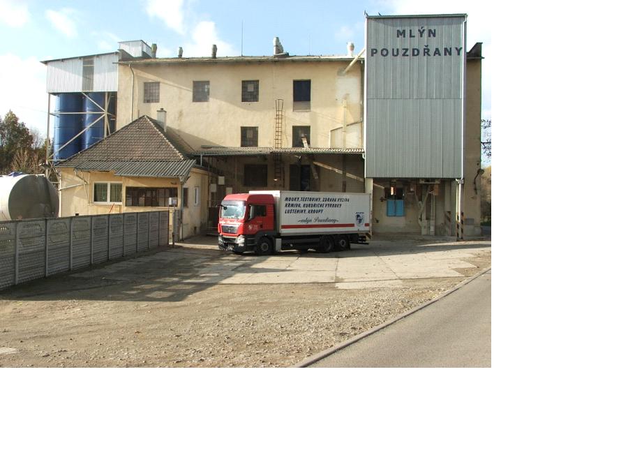 Prodej mouky a mlýnských výrobků ze mlýna