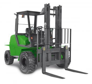 Terénní vysokozdvižné vozíky prodej Litoměřice - pro provoz na nezpevněném povrchu a v těžkém terénu