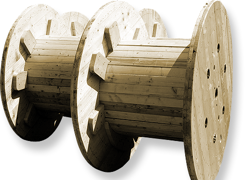 Herstellung und Export von Kabeltrommeln aus Holz Olmütz, Prerau, die Tschechische Republik
