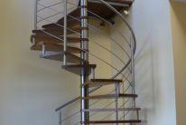 Nerezové, ocelové zábradlí, schodiště na zakázku, výplně, realizace, montáž, Brno