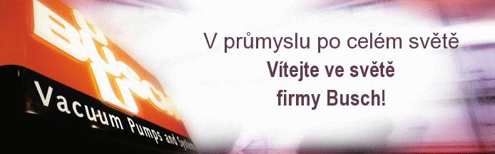Výroba, distribuce vývěv, dmychadel, vakuové techniky Brno