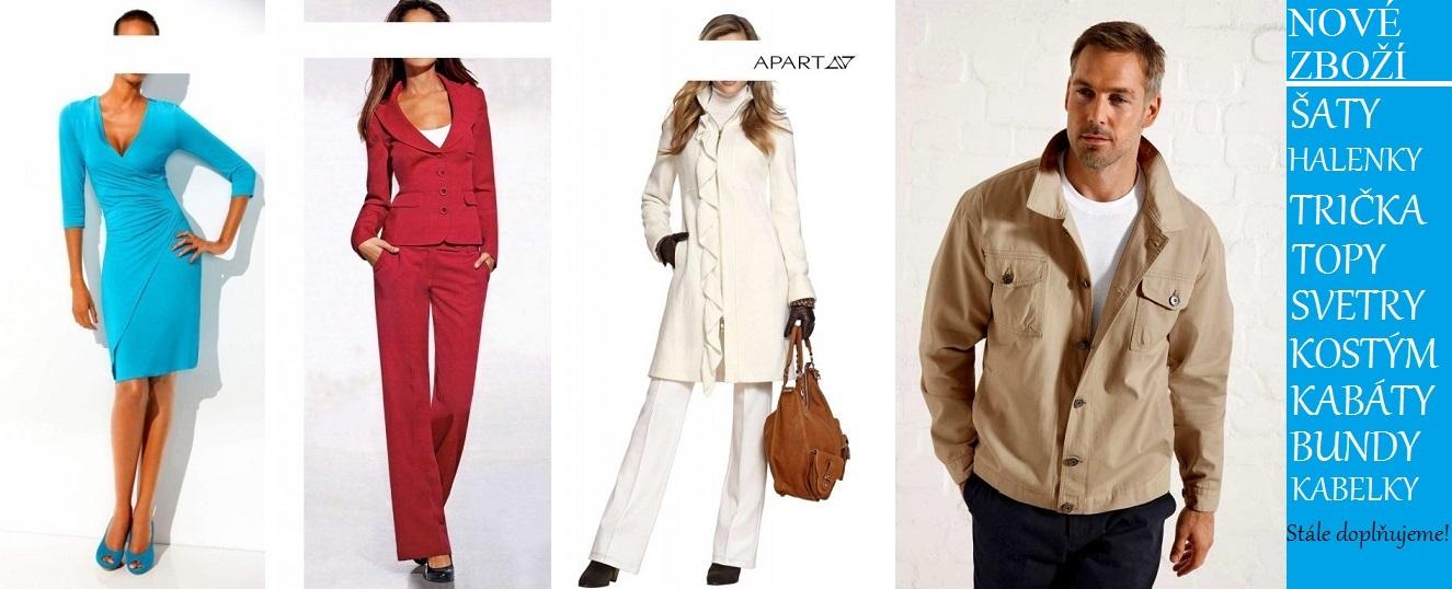 Značkové oděvy do Vaší prodejny.