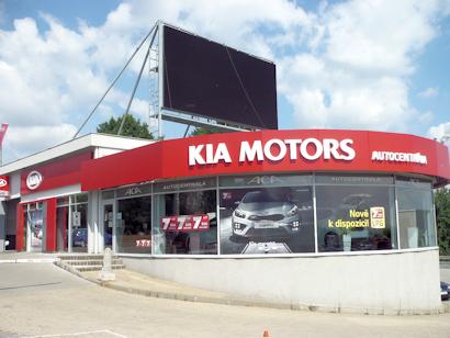 Prodej, servis vozů Kia Ostrava