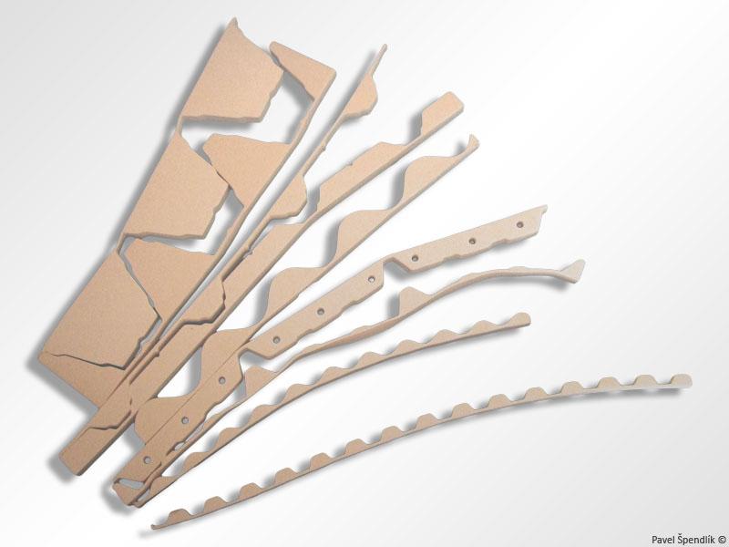 Výroba těsnění pro trapézové plechy Zlín