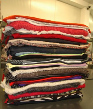 Prodej použitého tříděného textilu Praha