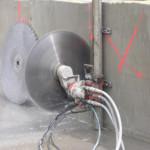 Řezání betonu, řezání panelů diamantem Brno