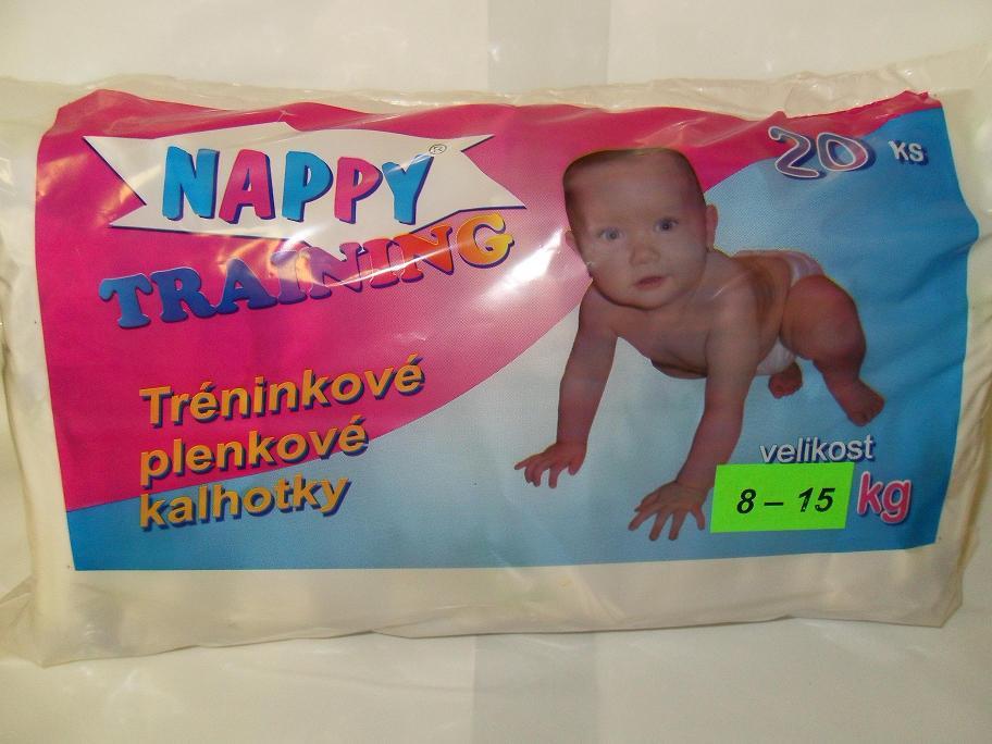 Tréninkové kalhotky, odvykací plenky Nappy Training e-shop