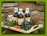 Bylinné pastilky, bylinné sirupy, iontové nápoje