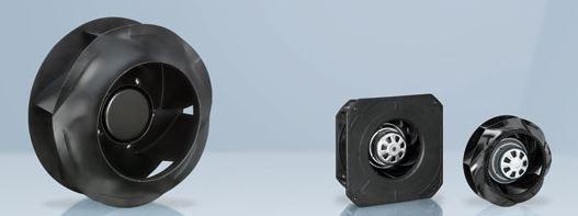 Radiální ventilátory pro průmyslová odvětví