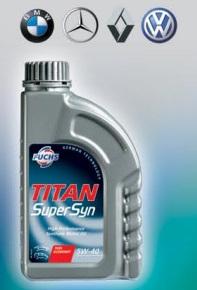 Motorové oleje a převodové oleje TITAN