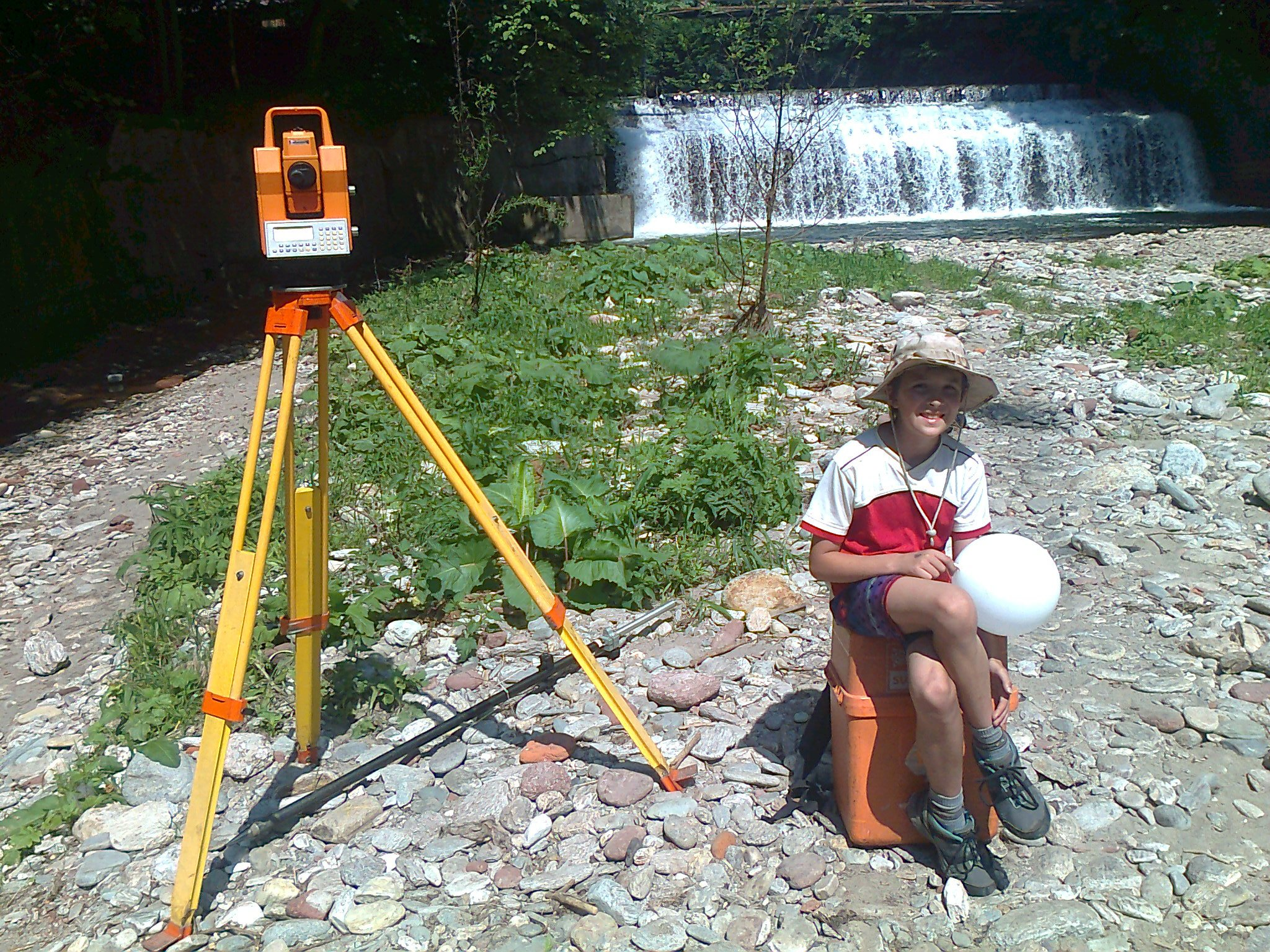 Geodetické práce Náchod