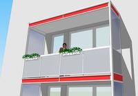 Výměna balkonového zábradlí, zábradlí lodžií Praha