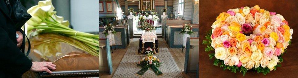 Zařídíme pohřby ve smutečních, kremačních síních, v kostelech za Vás