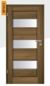 prosklené dveře Siena
