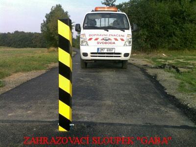 Vodorovné dopravní značení Olomouc