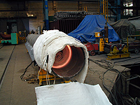 Drying of linings, heat treatment, annealing Ostrava, the Czech Republic