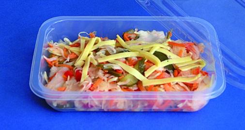 Jednorázové plastové obaly na potraviny pro fastfoody Olomouc