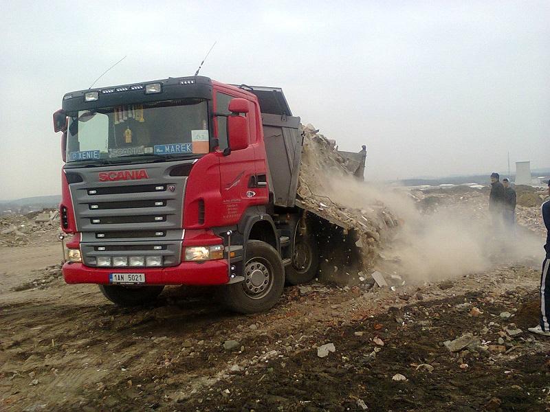 Výkup a recyklace zeminy, písku Praha